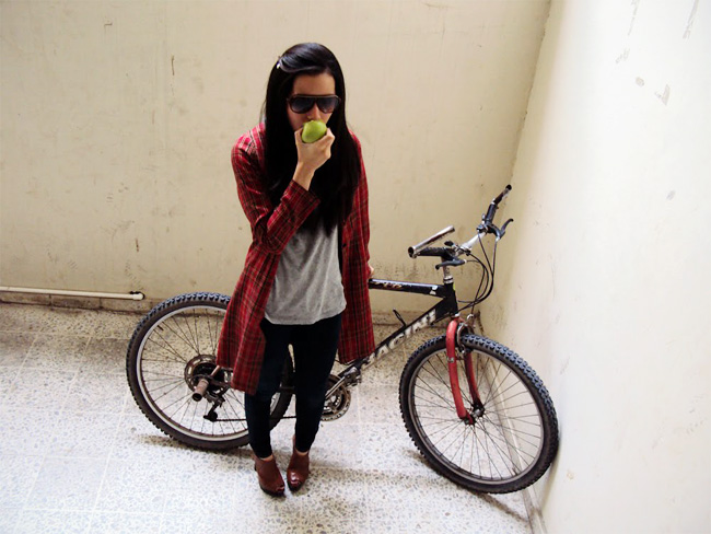Bike riding outfit