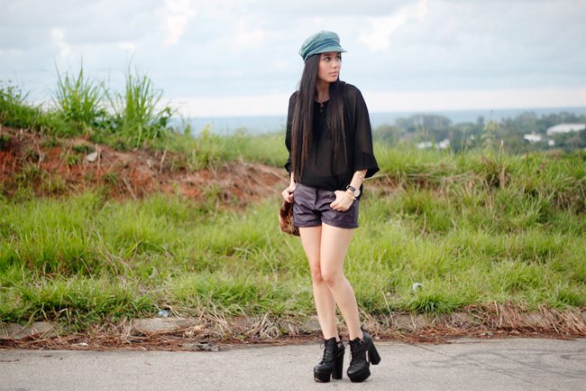 Outfit shot at Las Colinas
